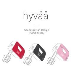 에바 휘핑전용 핸드믹서 휘바-핑크 HM-200PK