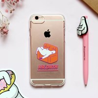 Mr.Donothing iPhone 7/7s/8 Clear soft case