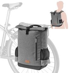 아이베라 백팩 겸용 자전거 짐받이 패니어 가방 대만산