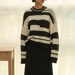 pocket stripe knit