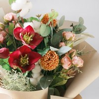 Blooming 파스텔 꽃다발