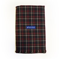 [아이어클락]Reversible Check Muffler_Burgundy