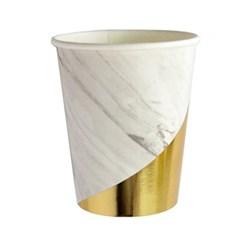 화이트 마블 블랑 종이컵 (8pcs)