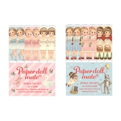 paper doll mate pencil cap _ballet/story book