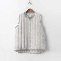 Column Puffer Vest