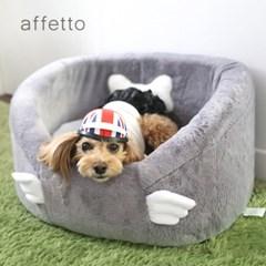 아페토 펫카시트-슈가윙 XL (그레이)