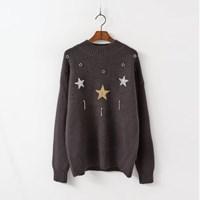 Wool Star Sweater