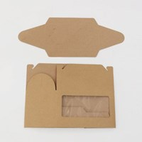 자연에서 온 Natural Wrapping - Kra Hole Window Box (5개 세트)