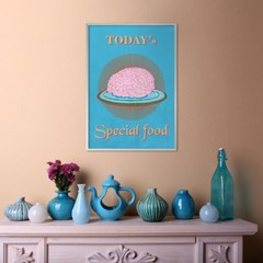 special food B - A2,A3,A4 메탈액자