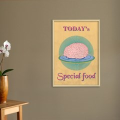 special food A - A2,A3,A4 메탈액자