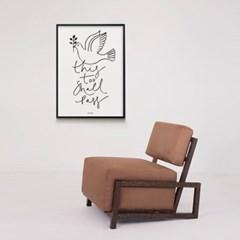 유니크 인테리어 디자인 포스터 M 이또한 지나가리라 드로잉
