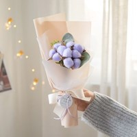 솜사탕 프리저브드 목화꽃다발 [4color]_(552343)