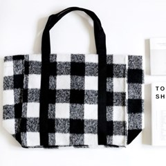 mono check bag