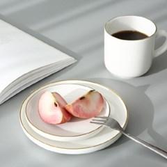 [2P세트★특가] 골든링 접시(소)