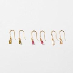 [실버 925] 이그니스 드롭 귀걸이