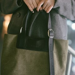 2way muse bag khaki