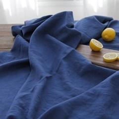 블루 문 리넨 테이블 커버