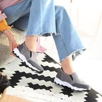 kami et muse Spangle fur sneakers_KM17w283