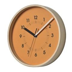 저소음 파르베.우드벽시계(Orange)