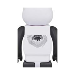 [KINKI ROBOT]1000%BEARBRICK FREEMASONRY X FRAGMENTDESIGN  WHITE(