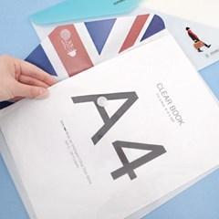 LONDON 가로봉투 파일 2Set