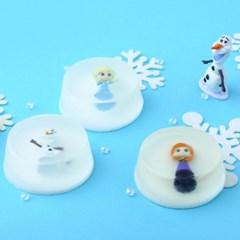 [Disney] 미니 피규어 비누 - 겨울왕국 (3options)