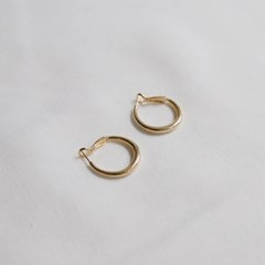 french ring earrings (2colors)