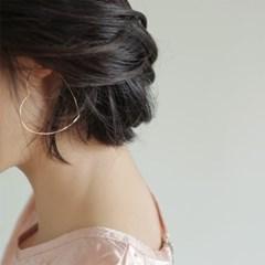 heart ring earrings (2colors)