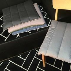 천연라텍스 사무실/차량용/의자 방석 쿠션 3cm
