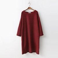 Wool Check Dress