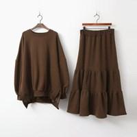 [Set] Gimo Cancan Tee N Long Skirt