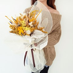 샤인 옐로우 꽃다발