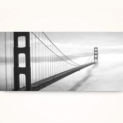 캔버스액자 /CAS537 샌프란시스코 금문교 - 가로 와이드 대형액자