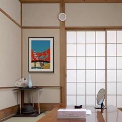 일본 인테리어 디자인 포스터 M 도쿄브릿지2 일본소품
