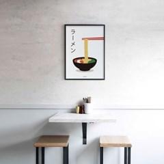 일본 인테리어 디자인 포스터 M 라멘3 일본소품
