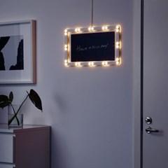 이케아 STRALA LED 걸이식장식조명_(701345443)
