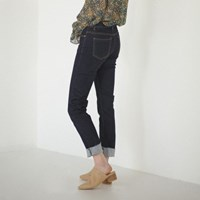 semi slim banding jean