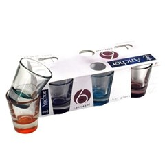 Anchor Hocking Assorted Colors Shot glass(6P)