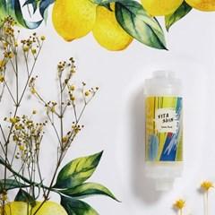 비타스킨 향 테라피 비타민 보습 샤워필터-레몬펀치