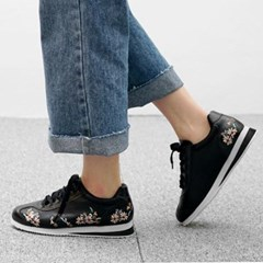 kami et muse Flower embroidery sneakers_KM17w297
