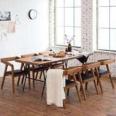 마이 시그니처 뉴요커 테이블 1800 6인 체어세트(우드슬_(12149723)