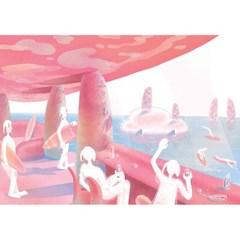 서핑을 즐기는 미미행성의 신들