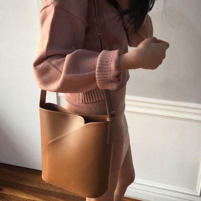 [텐바이텐 단독]TO LIP BAG.camel (가방+파우치)