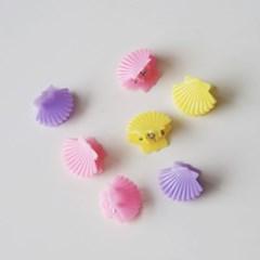 Candy Shell Mini Pins 캔디조개집게핀