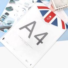 LONDON 세로봉투 파일 2Set