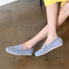kami et muse Hidden wedge 2cm up stitch loafers_KM18s010