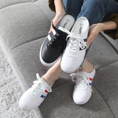 kami et muse Line point backless sneakers _KM18s008