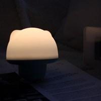 말랑 젤리곰 LED 흡착식 무드램프 (벽조명 겸용)