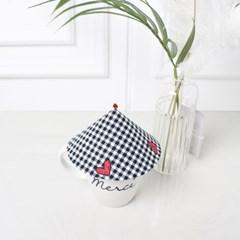 {Cup Cover}hart check 하트체크 컵커버(컵덮개,컵뚜껑)