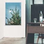 [전구증정] BlueSky 패브릭 포스터